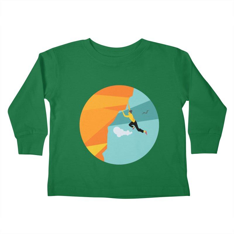 Escalador Kids Toddler Longsleeve T-Shirt by INK. ALPINA