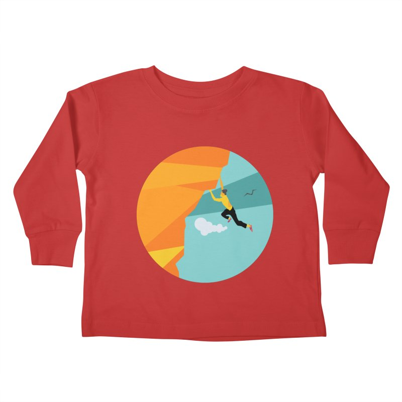 Escalador Kids Toddler Longsleeve T-Shirt by · STUDI X-LEE ·