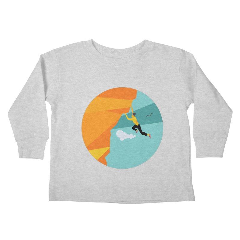 Escalador Kids Toddler Longsleeve T-Shirt by · STUDI X-LEE ·