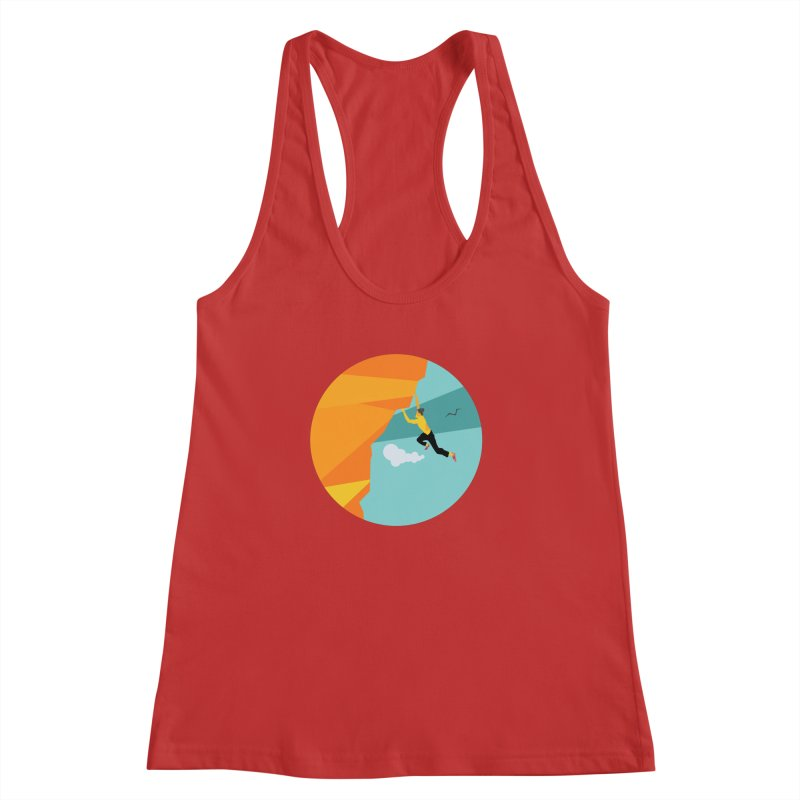 Escalador Women's Racerback Tank by INK. ALPINA