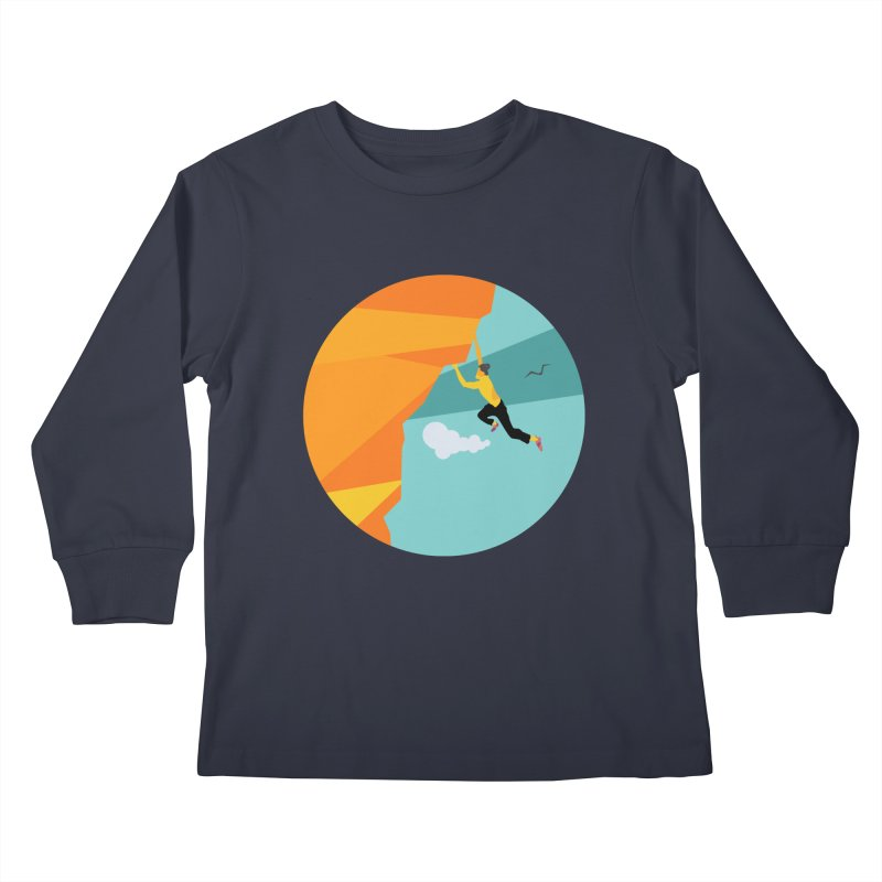 Escalador Kids Longsleeve T-Shirt by · STUDI X-LEE ·