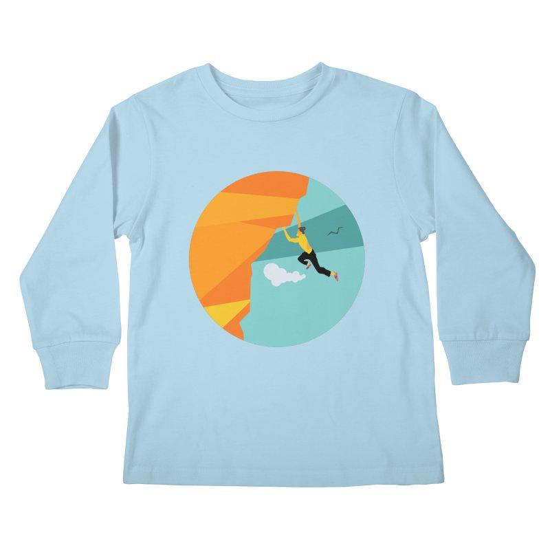 Escalador Kids Longsleeve T-Shirt by · STUDI X-LEE ·