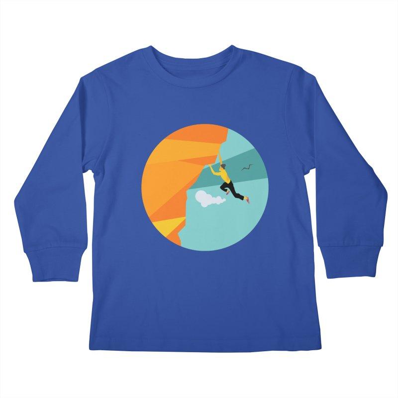 Escalador Kids Longsleeve T-Shirt by INK. ALPINA