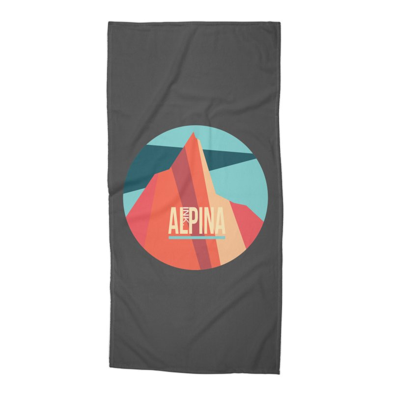 Logo InkAlpina Accessories Beach Towel by · STUDI X-LEE ·