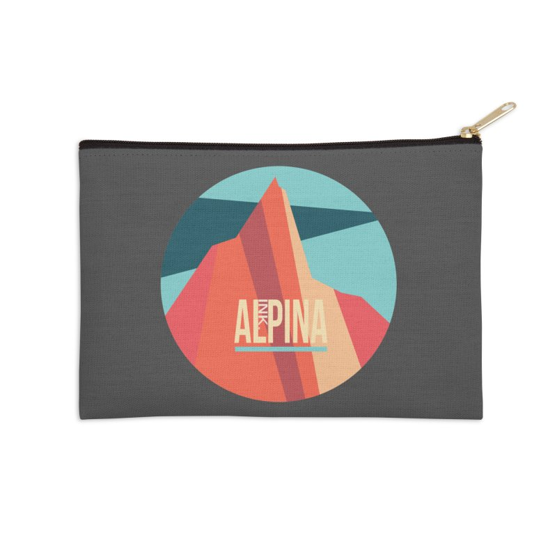 Logo InkAlpina Accessories Zip Pouch by · STUDI X-LEE ·