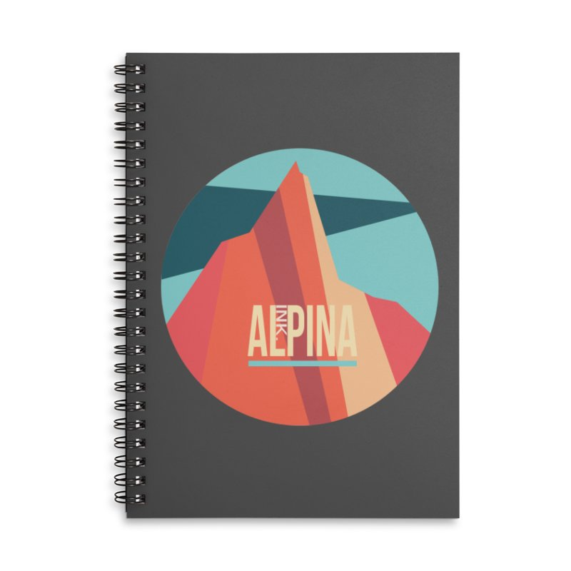 Logo InkAlpina Accessories Notebook by · STUDI X-LEE ·