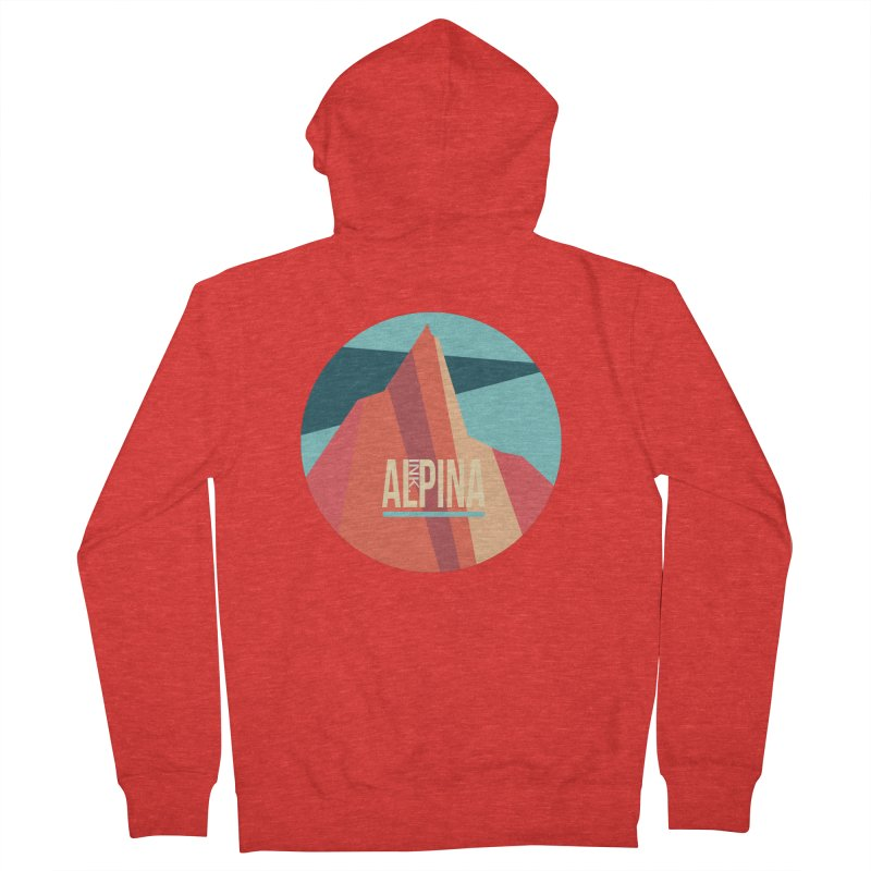 Logo InkAlpina Women's Zip-Up Hoody by · STUDI X-LEE ·