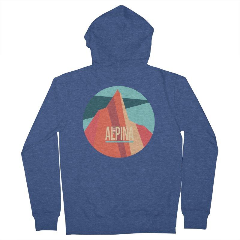 Logo InkAlpina Men's Zip-Up Hoody by · STUDI X-LEE ·