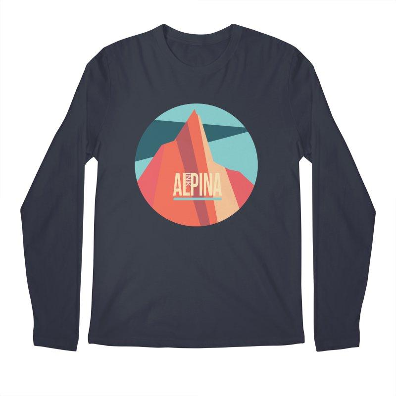 Logo InkAlpina Men's Longsleeve T-Shirt by · STUDI X-LEE ·