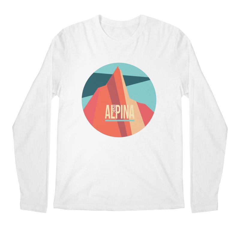 Logo InkAlpina Men's Regular Longsleeve T-Shirt by INK. ALPINA