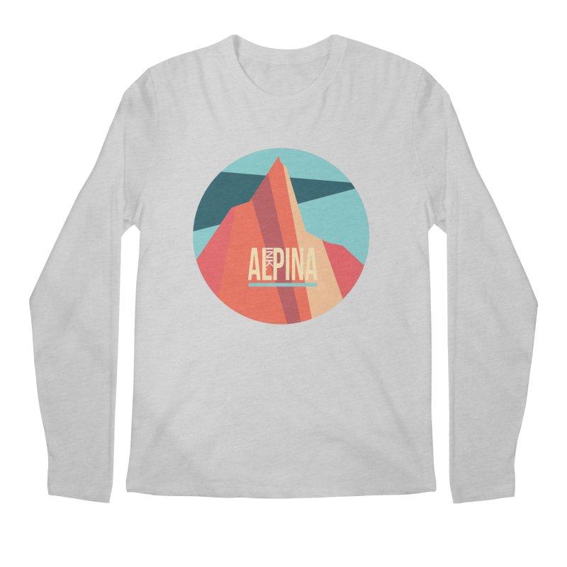 Logo InkAlpina Men's Regular Longsleeve T-Shirt by INK. ALPINA