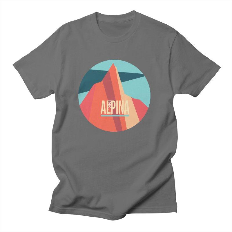Logo InkAlpina Men's T-Shirt by · STUDI X-LEE ·