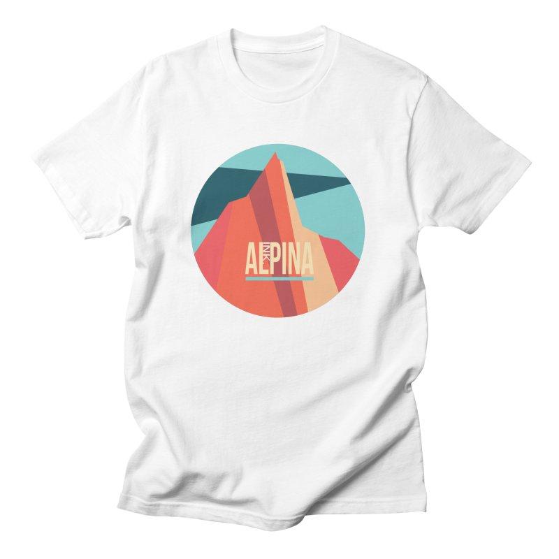 Logo InkAlpina Men's Regular T-Shirt by · STUDI X-LEE ·