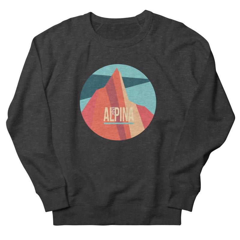 Logo InkAlpina Women's French Terry Sweatshirt by · STUDI X-LEE ·