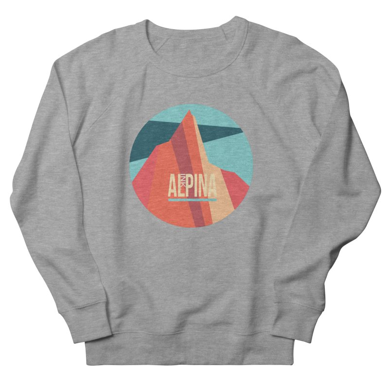 Logo InkAlpina Women's French Terry Sweatshirt by INK. ALPINA