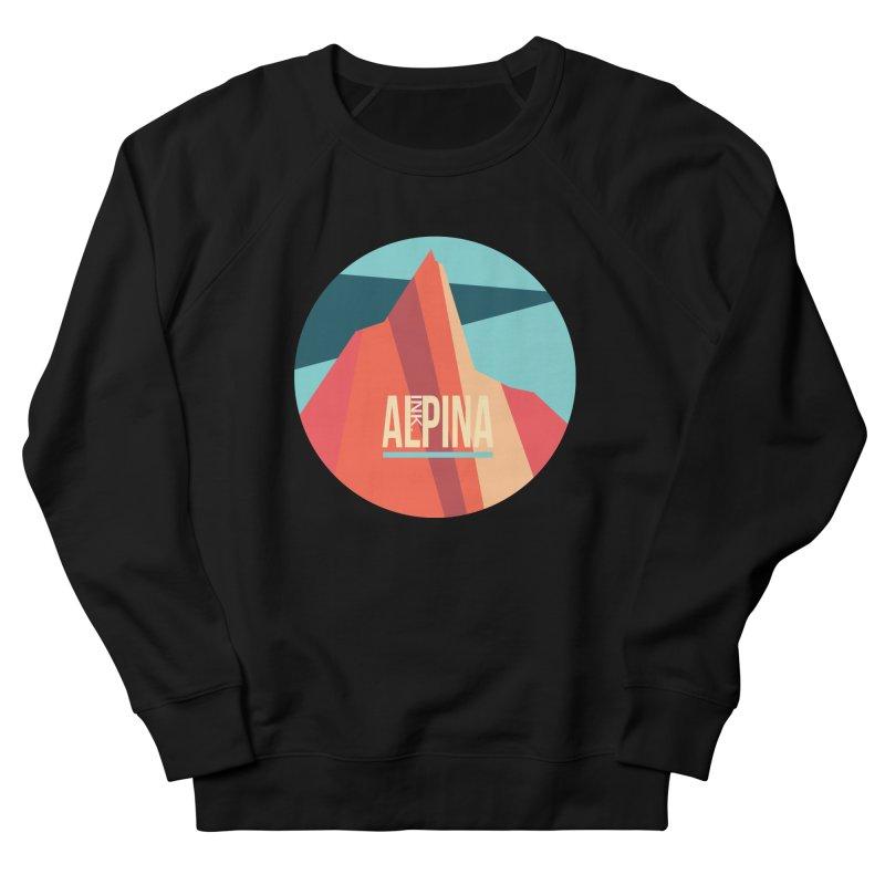 Logo InkAlpina Women's French Terry Sweatshirt by INK. ALPINA