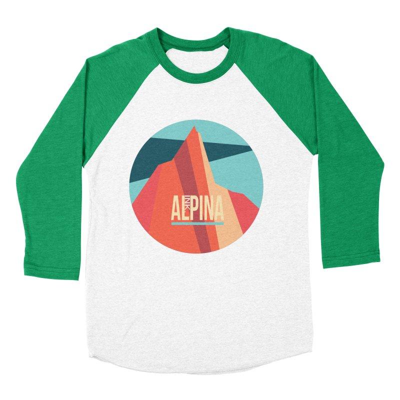 Logo InkAlpina Men's Baseball Triblend Longsleeve T-Shirt by · STUDI X-LEE ·