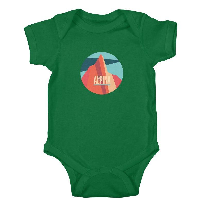 Logo InkAlpina Kids Baby Bodysuit by · STUDI X-LEE ·