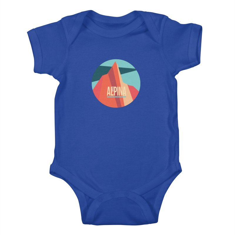 Logo InkAlpina Kids Baby Bodysuit by · STUDI X-LEE ·
