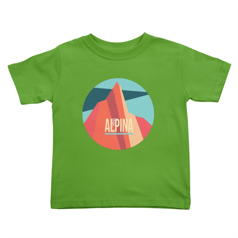 Logo InkAlpina Kids Toddler T-Shirt by · STUDI X-LEE ·