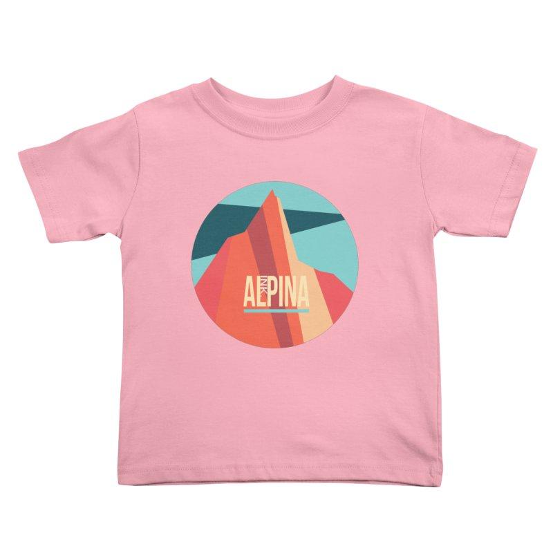 Logo InkAlpina Kids Toddler T-Shirt by · STUDI X-LEE ·