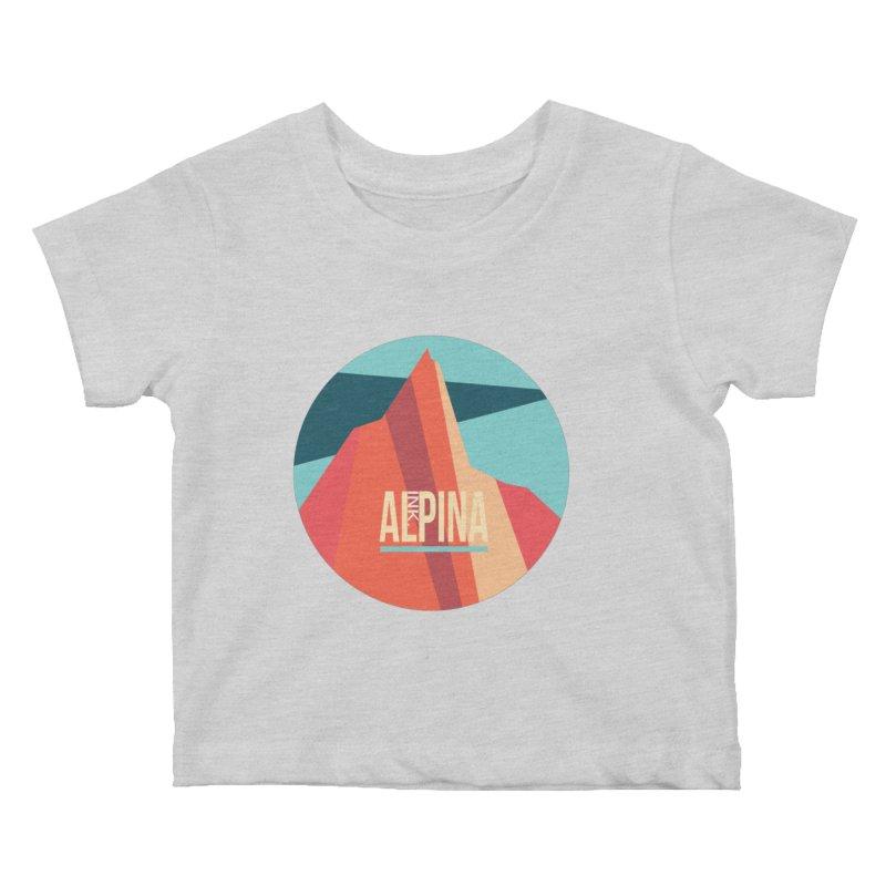 Logo InkAlpina Kids Baby T-Shirt by INK. ALPINA