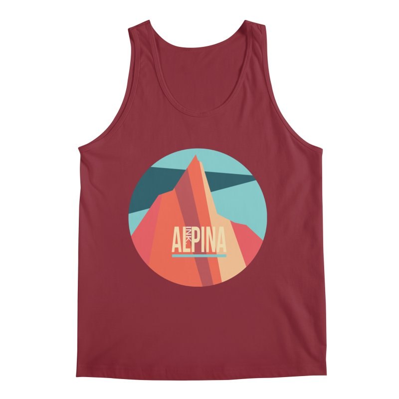 Logo InkAlpina Men's Tank by · STUDI X-LEE ·