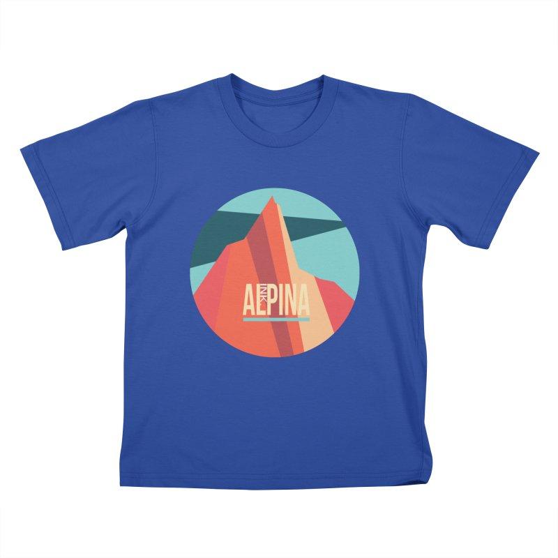 Logo InkAlpina Kids T-Shirt by · STUDI X-LEE ·