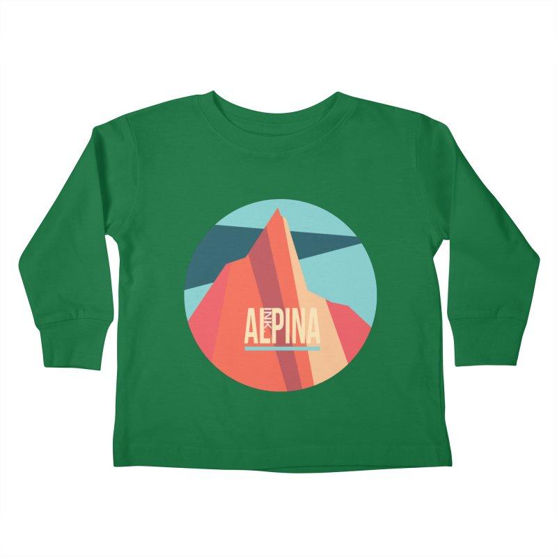 Logo InkAlpina Kids Toddler Longsleeve T-Shirt by · STUDI X-LEE ·