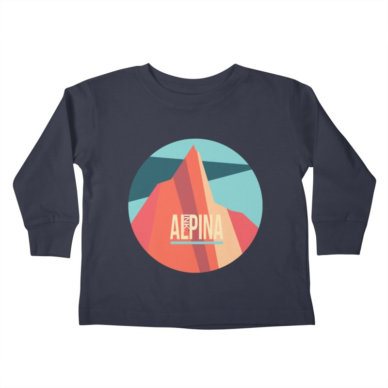 Logo InkAlpina Kids Toddler Longsleeve T-Shirt by · STUDI X-LEE ·