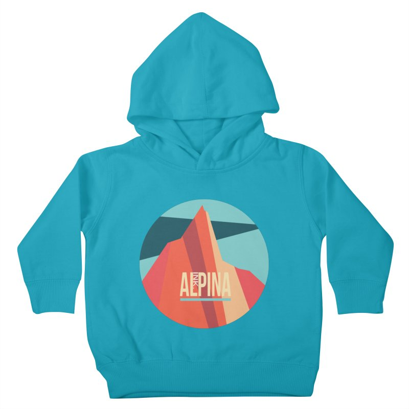 Logo InkAlpina Kids Toddler Pullover Hoody by INK. ALPINA