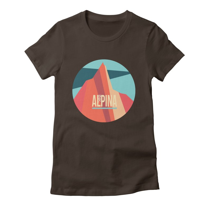 Logo InkAlpina Women's T-Shirt by · STUDI X-LEE ·