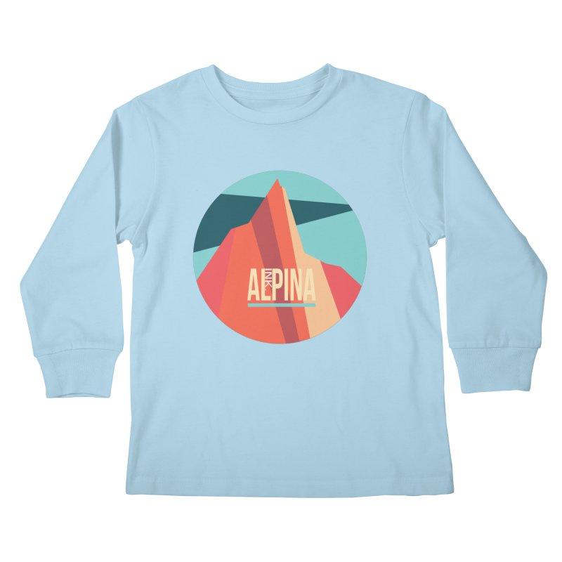 Logo InkAlpina Kids Longsleeve T-Shirt by · STUDI X-LEE ·