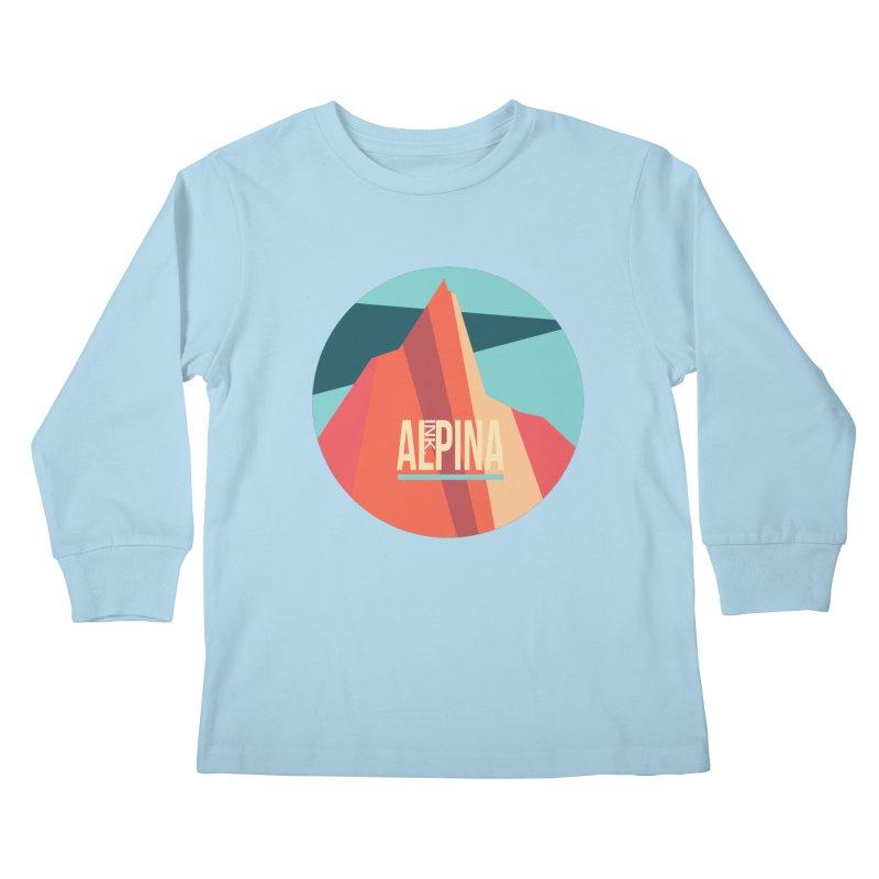 Logo InkAlpina Kids Longsleeve T-Shirt by INK. ALPINA