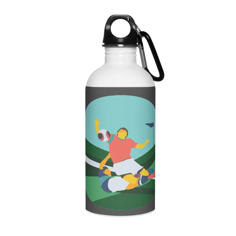 Soccer Accessories Water Bottle by INK. ALPINA