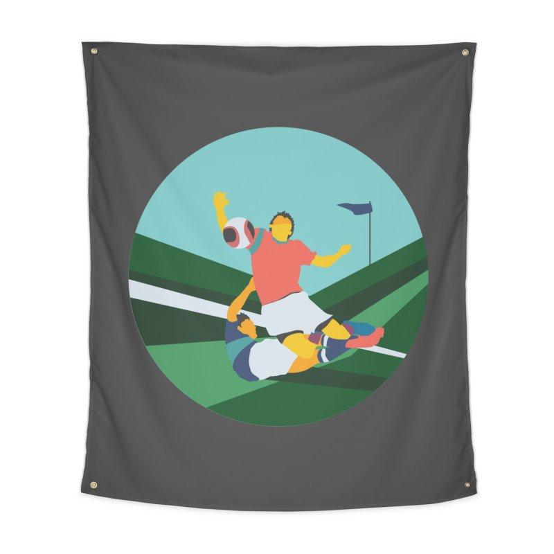Soccer Home Tapestry by · STUDI X-LEE ·
