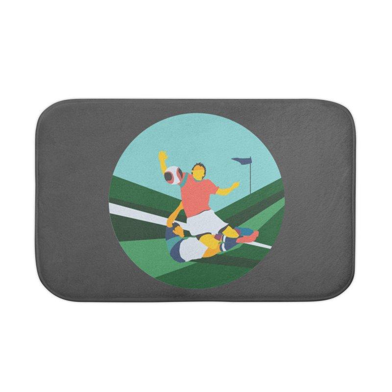 Soccer Home Bath Mat by · STUDI X-LEE ·