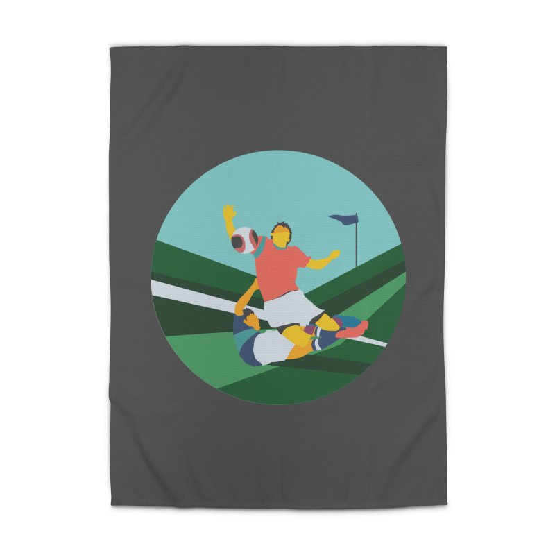 Soccer Home Rug by · STUDI X-LEE ·