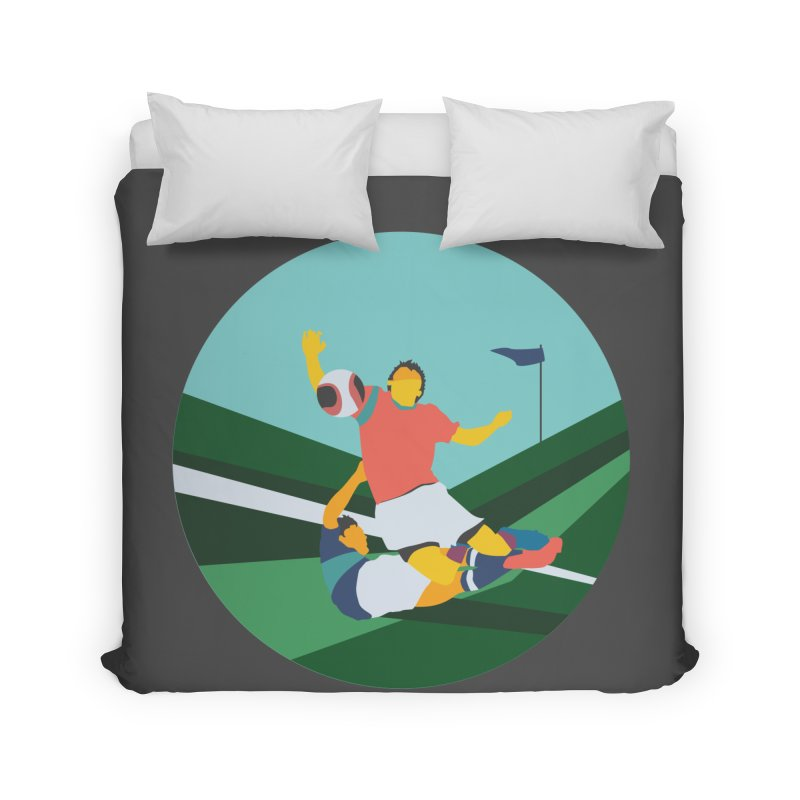 Soccer Home Duvet by INK. ALPINA