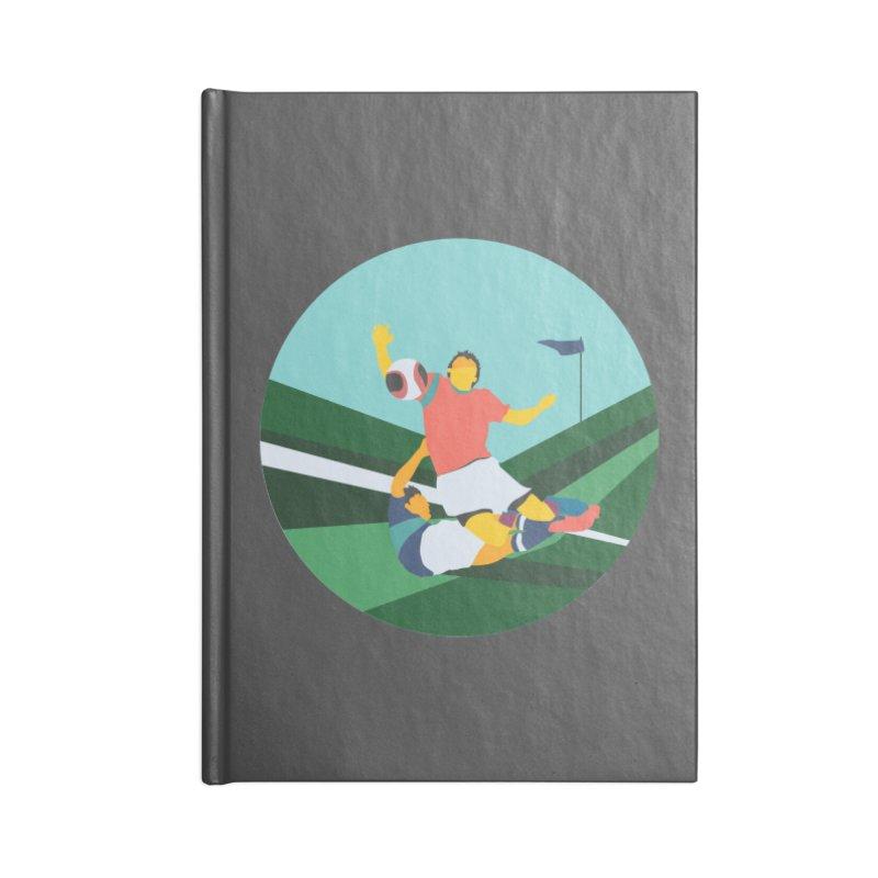Soccer Accessories Blank Journal Notebook by · STUDI X-LEE ·