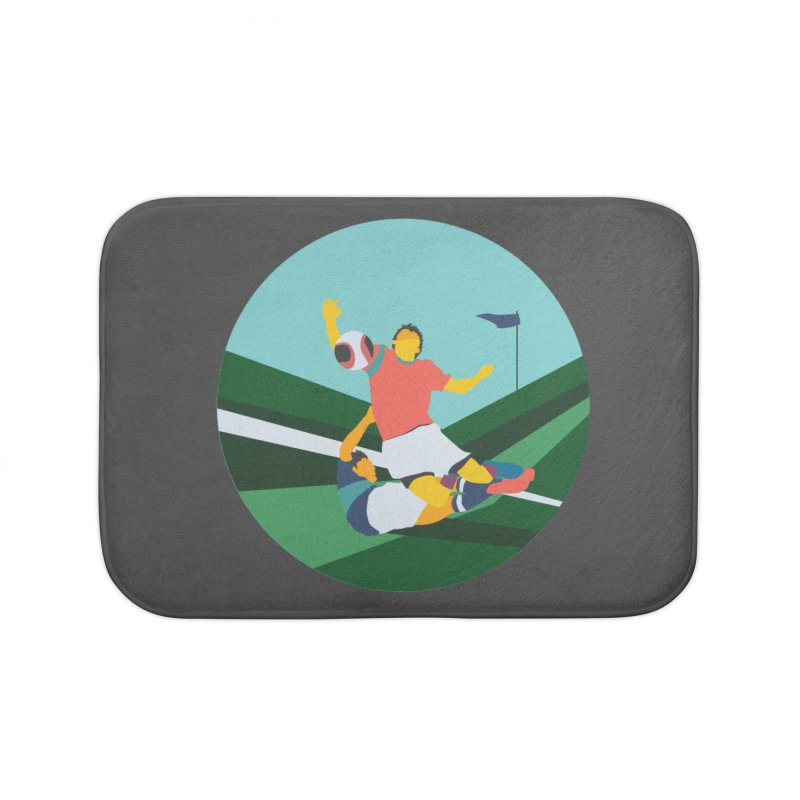 Soccer Home Bath Mat by · STUDI X-LEE ·