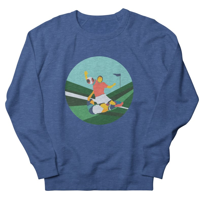 Soccer Men's Sweatshirt by INK. ALPINA