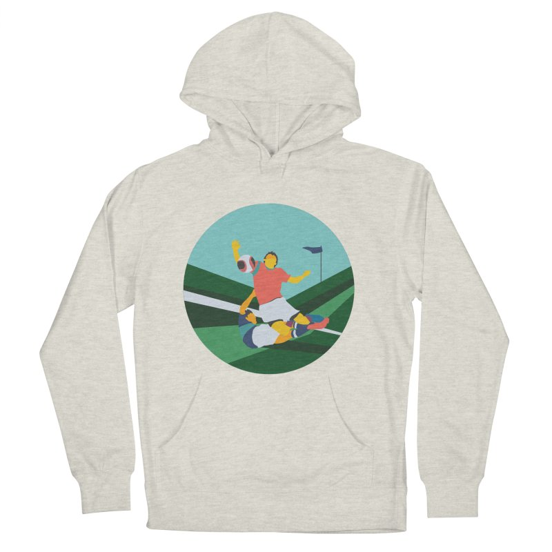 Soccer Men's French Terry Pullover Hoody by · STUDI X-LEE ·