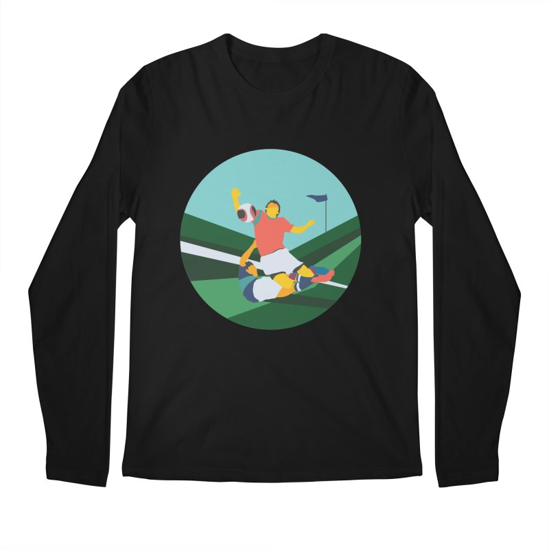 Soccer Men's Regular Longsleeve T-Shirt by · STUDI X-LEE ·