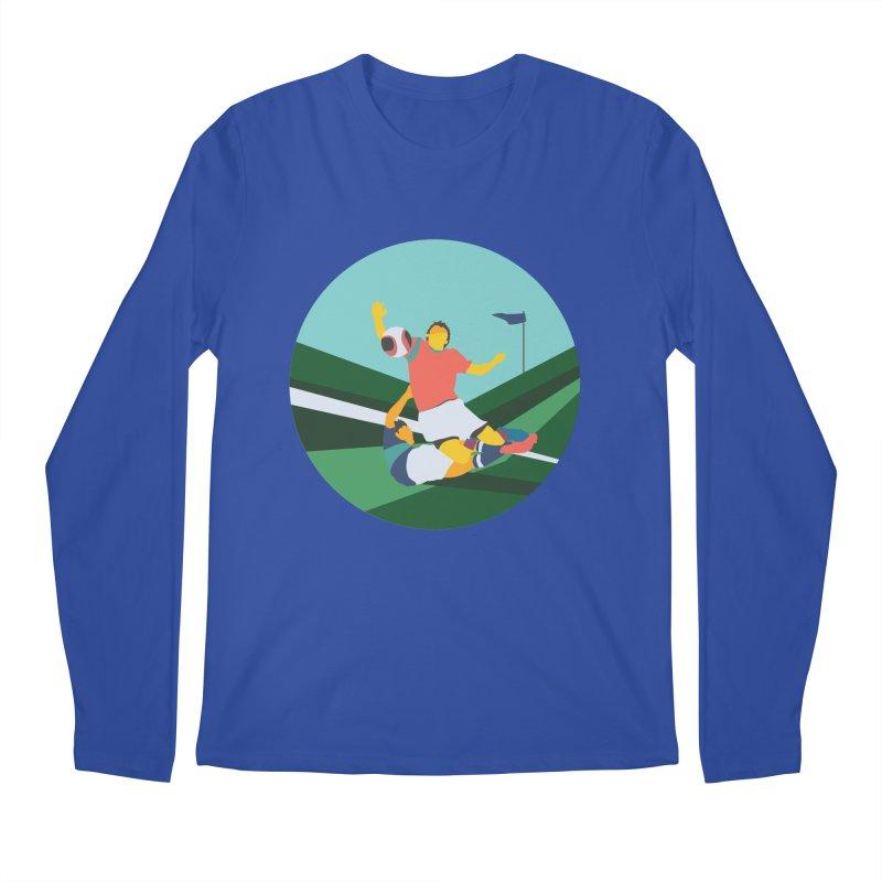 Soccer Men's Regular Longsleeve T-Shirt by · STUDI X-LEE ·
