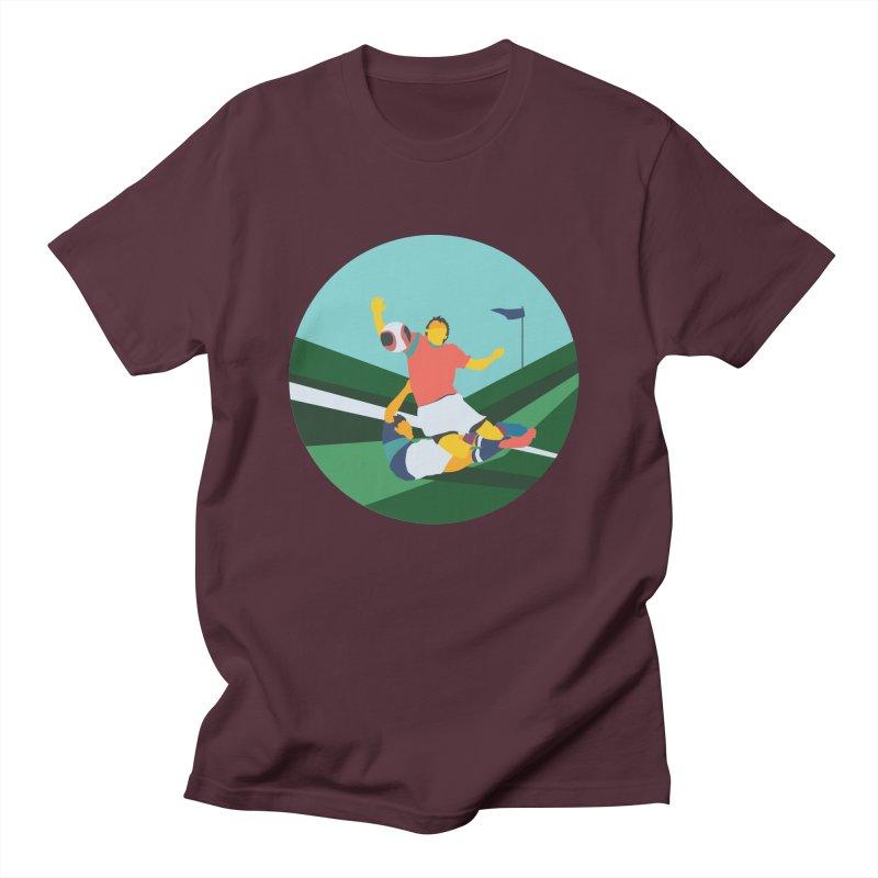 Soccer Men's Regular T-Shirt by · STUDI X-LEE ·