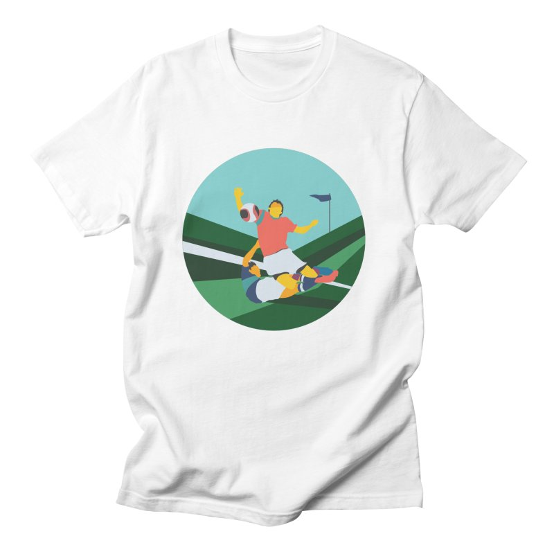 Soccer Men's T-Shirt by · STUDI X-LEE ·