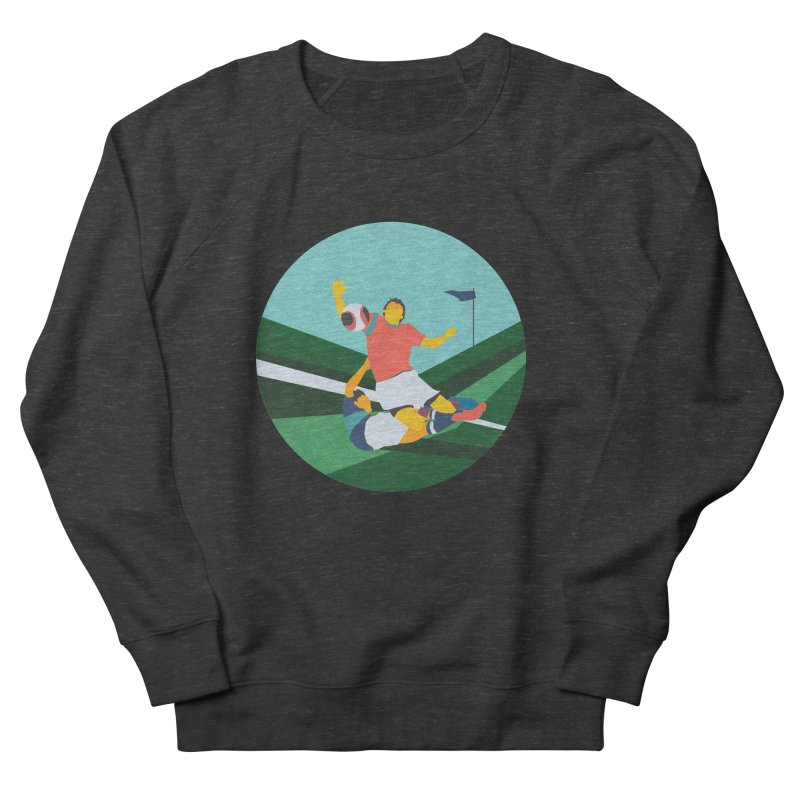 Soccer Women's French Terry Sweatshirt by INK. ALPINA