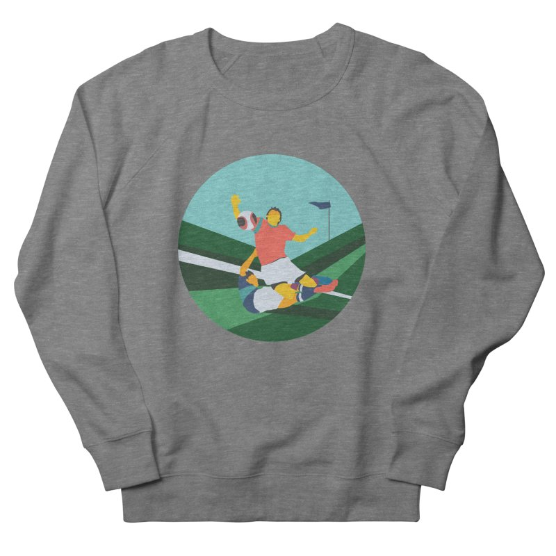Soccer Women's French Terry Sweatshirt by · STUDI X-LEE ·