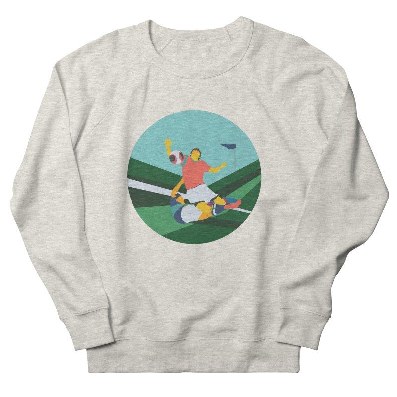 Soccer Men's French Terry Sweatshirt by · STUDI X-LEE ·